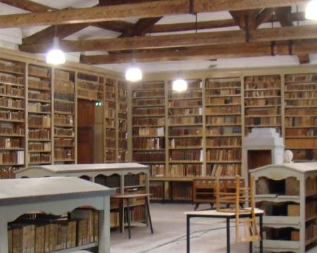 Bibliothèque de la maison d'accueil